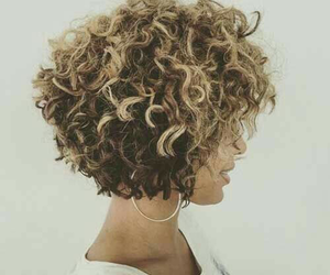 short curly hair image