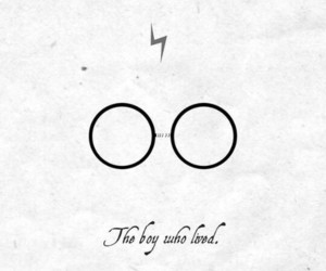 harry potter, wallpaper, and glasses image