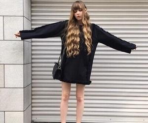 girl, skinny, and thin image