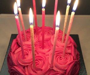 bday, birthday, and cake image