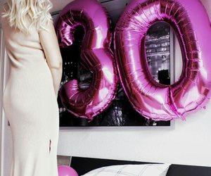 balloons, bday, and birthday image