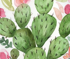 art, cactus, and summer image