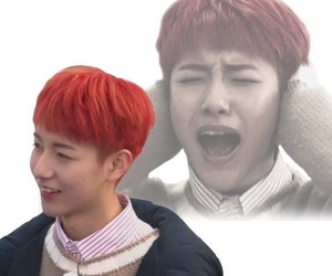 kpop, renjun, and reaction image
