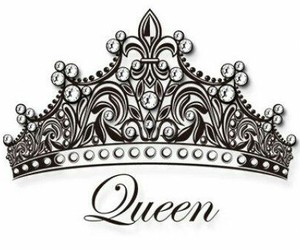 crown, Queen, and tattoo image