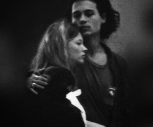 couple, johnny depp, and kate moss image