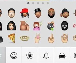 iphone, need, and emojis image