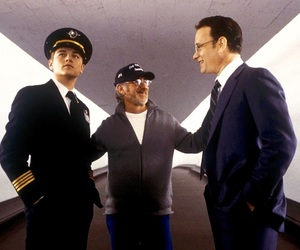 catch me if you can, steven spielberg, and tom hanks image