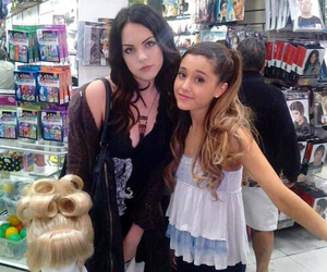ariana grande, ariana, and liz gillies image