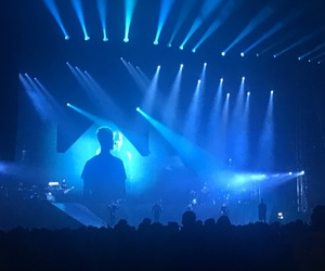 blue, concert, and justin image