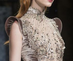 embellishment, embroidery, and fashion image