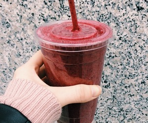 desserts, drinks, and raspberry smoothie image