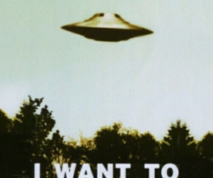alien, wallpaper, and I want to believe image