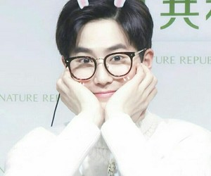 exo, leader, and suho image