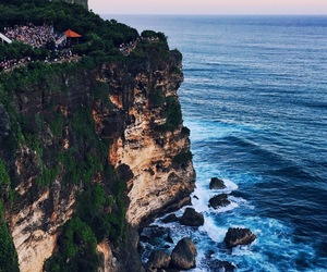 bali, cliff, and beach image