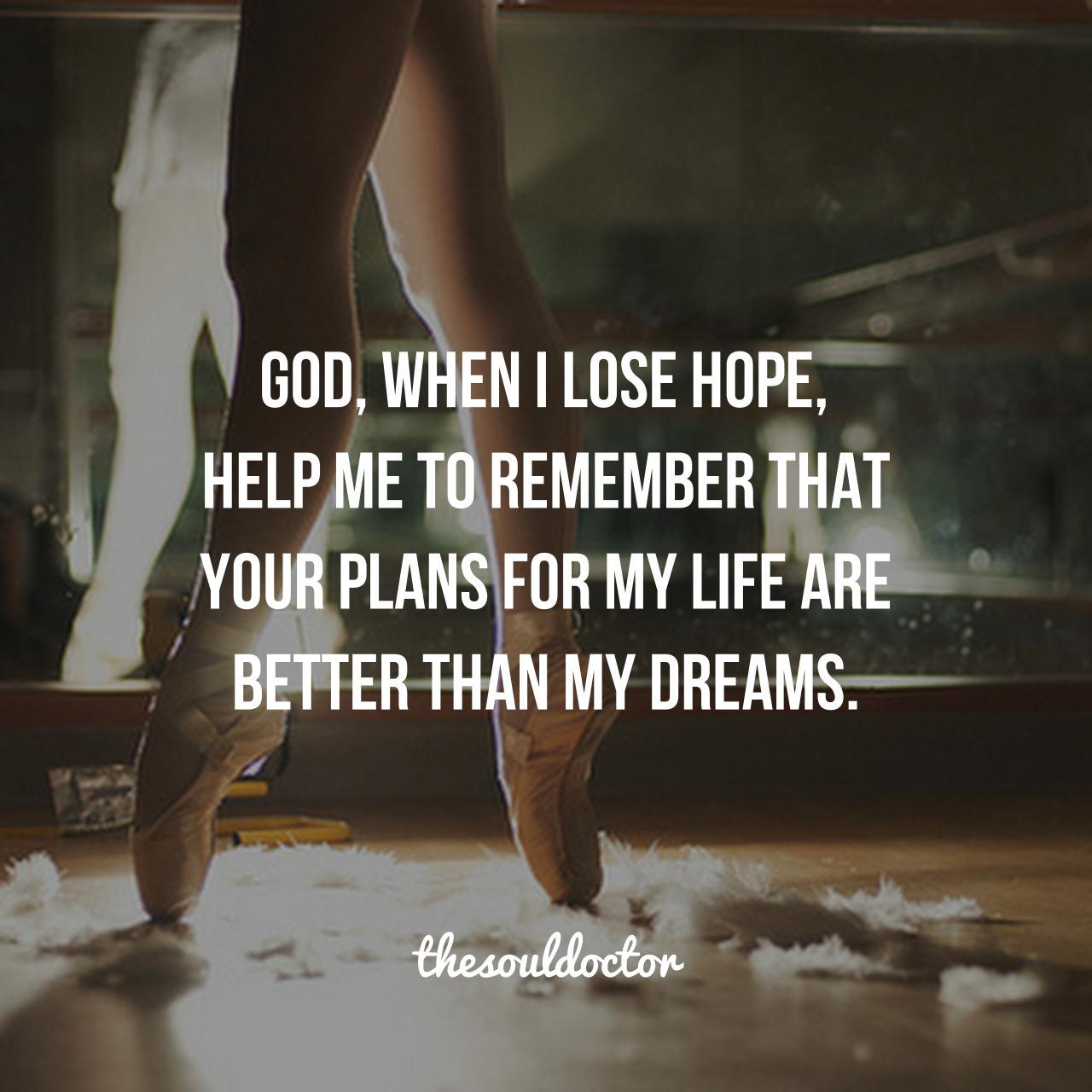 god, dreams, and faith image