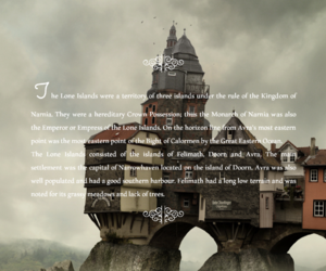 narnia, places, and the chronicles of narnia image