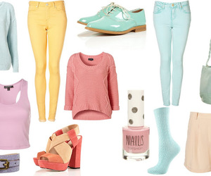 cool, fashion, and pastels image