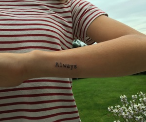 always, tattoo, and little tattoo image