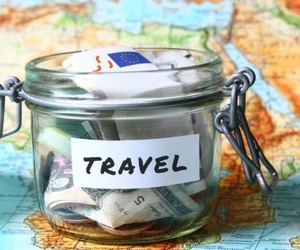travel, world, and money image