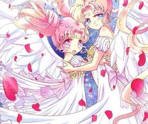 anime, crystal, and drawings image