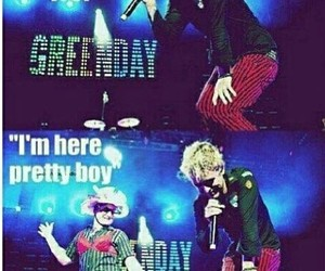 billie joe armstrong, tre cool, and funny image