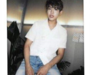 wanna one, kpop, and park woojin image