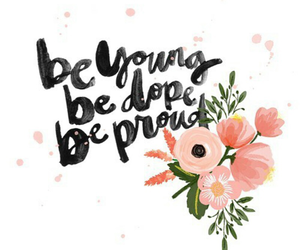 quotes, flowers, and young image