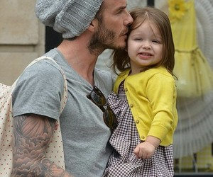 dad, David Beckham, and cute image