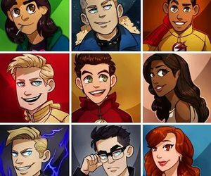 the flash, zoom, and wally west image