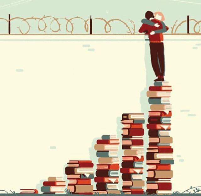 books, reading, and love image