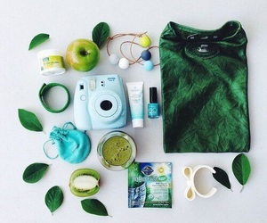 blue, green, and instax image