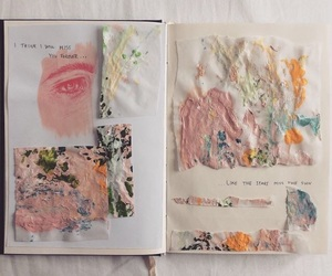 art, tumblr, and journal image