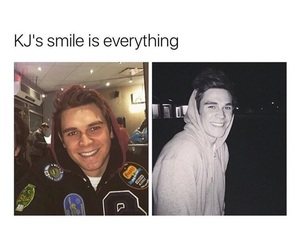 actor, smile, and riverdale image