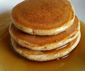 breakfast, pancake, and yummi image