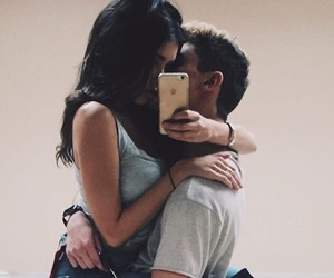 couple, love, and madison beer image