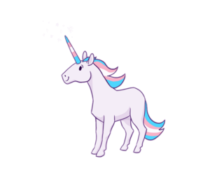 overlay, png, and unicornios image