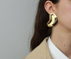 earings, fashion, and statement earings image