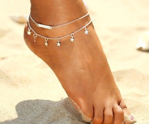 fashion, jewellery, and anklet image