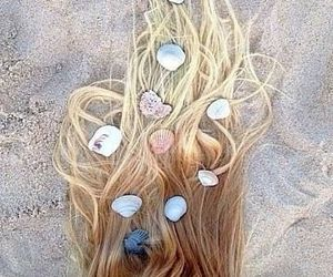 coral, hair, and pelo image