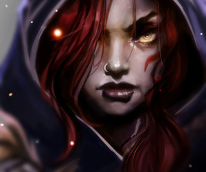 xayah, league of legends, and lol image