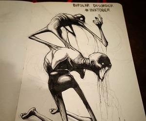 disorder, art, and bipolar image