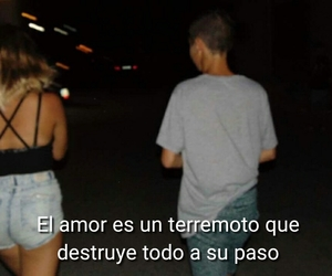 amor, frases, and couples image