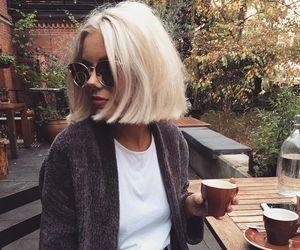 fashion, blonde, and bob image