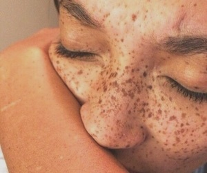 freckles, beauty, and tumblr image