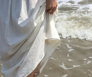 aesthetic, white, and beach image