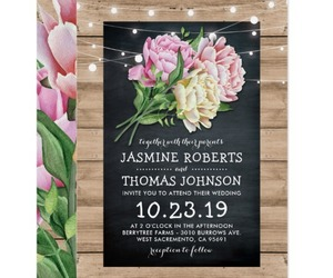 floral, rustic, and wedding image