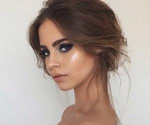 eyebrow, hair, and eyes image