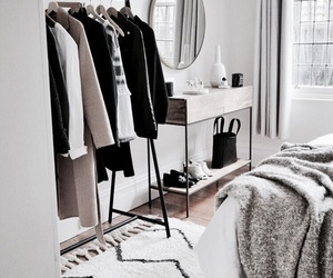 room, bedroom, and fashion image