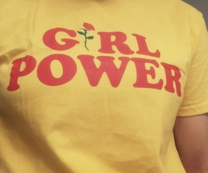 feminist, girl power, and yellow image