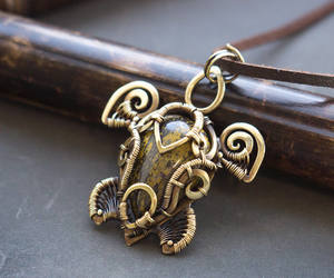 etsy, steampunk jewelry, and turtle necklace image